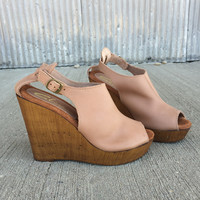 Stanza Wedge by Sbicca {Nude}