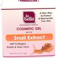 La Bella Cosmetic Gel with Snail Extract, 4 Ounce