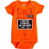 Sara Kety I Just Did 9 Months on the Inside Onesuit (0-6 Months)