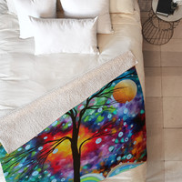 Madart Inc. A Moment In Time Fleece Throw Blanket