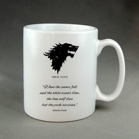 Game of Thrones House Stark - Mug, Ceramic Mug, Coffee Mug