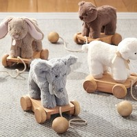 Plush Pull Toy | Pottery Barn Kids