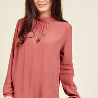 Exemplary Ensemble Long Sleeve Top