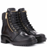 Army Ranger leather boots