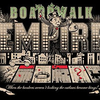 'Bordwalk Empire' TV Show Parody - Plywood Wood Print Poster Wall Art
