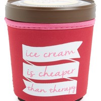 Design Ideas 'Ice Cream Is Cheaper Than Therapy' Ice Cream Pint Huggy   Nordstrom