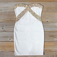 Jack Frost Party Dress in Snow