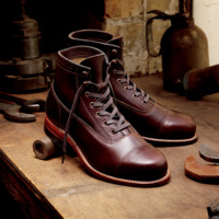 Men's Rockford 1000 Mile Cap-Toe Boot - W05293 - Vintage Boots
