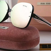 MIUMIU female tide brand color fashion sunglasses F-A-SDYJ #3