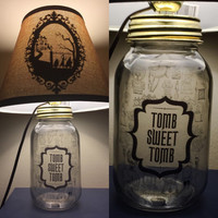 Haunted Mansion Inspired Lamp