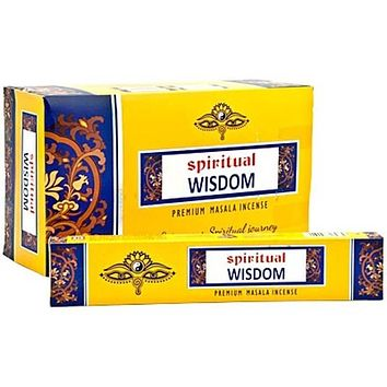 Spiritual Wisdom Incense - 15 Gram Pack (12 Packs Per Box)
