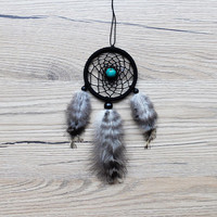 Car Dreamcatcher, Car Dream catcher, Car Mirror Hanger, Rear View Mirror Dream Catcher, Car Mirror Charm, Car Decor, Car Accessories