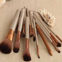 Professional 12pcs Makeup Brushes Set Cosmetic Tool Beauty So Convenient