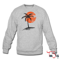 Palm Tree crewneck sweatshirt