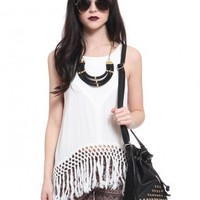 Give Me One Reason Tassel Top - Tops - Clothes | GYPSY WARRIOR