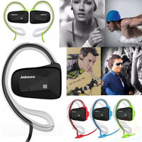 NEW Jabees Wireless Bluetooth 4.0 Stereo Waterproof Swimming Sports Earphones Headsets Headphones Call in Ear with Microphone
