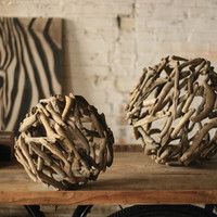 Large - Driftwood Sphere