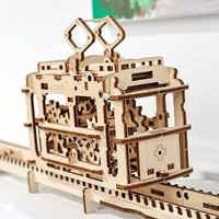 UGears Mechanical Wooden Wooden Puzzle - Puzzle Haven