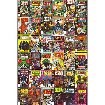 """Star Wars - Classic Comic Book Covers Poster (24""""x36"""")"""