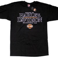 The House of Harley-Davidson Milwaukee Men's Black T-Shirt. 302960750