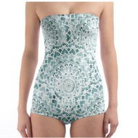 Mint Festival Mandalas Swimsuit