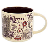 Disney Parks Starbucks Been There Hollywood Studios Coffee Mug New with Box