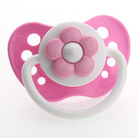 Pink Daisy Pacifier