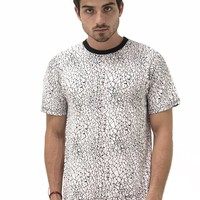GATRIK Crackle Print T-Shirt
