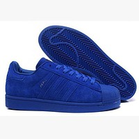 Adidas SUPERSTAR CITY SERIES Shell-top (6-color) Blue I