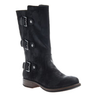 Mid-Calf Durango Style Boot by Madeline Girl - Black