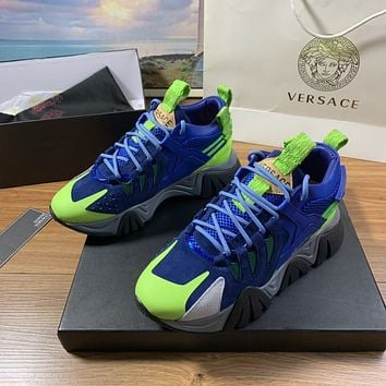 VERSACE  Woman's Men's 2020 New Fashion Casual Shoes Sneaker Sport Running Shoes