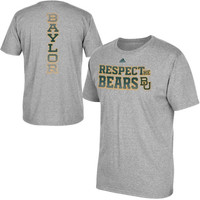 Baylor Bears adidas Respect T-Shirt – Gray