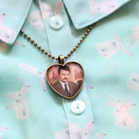 Ron Swanson Necklace