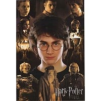 Harry Potter Goblet of Fire Movie Poster 24x36