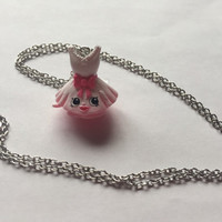 Shopkins Foodie Necklace - Ballet TutuCute - repurposed toys