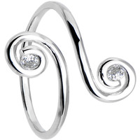 925 Sterling Silver Swirl Toe Ring | Body Candy Body Jewelry