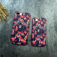 On Sale Hot Deal Iphone 6/6s Stylish Cute Apple Matte Phone Case [11033187271]