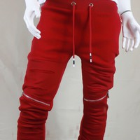Red Jogger Sweats