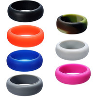 8mm Silicone Finger Rings
