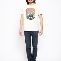 Bob Dylan and The Band Ticket Stub Unisex Crew - Dirty White