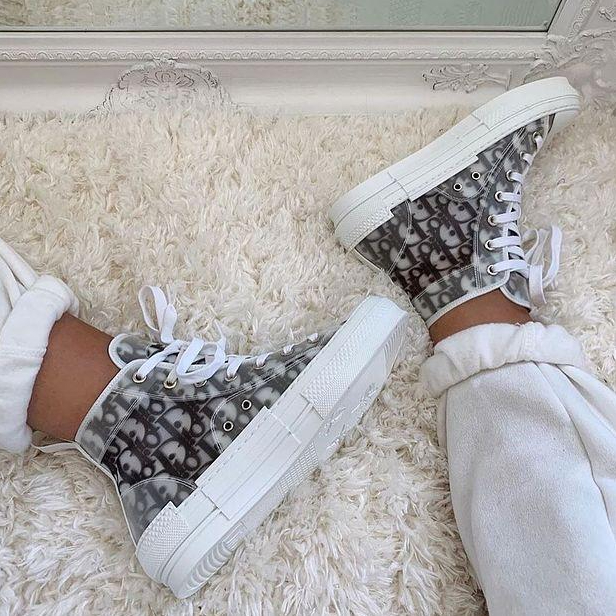 Image of DIOR Letter recreational sneakers