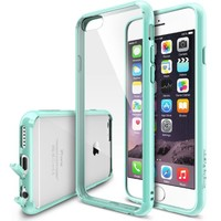 """iPhone 6 Case - Ringke FUSION iPhone 6 Case 4.7 """" **NEW** [Dust Cap/Drop Protection][MINT] Premium Crystal Clear Back Shock Absorption Bumper Hybrid Hard Case for Apple iPhone 6 4.7 Inch - Eco/DIY Package: Amazon.ca: Cell Phones & Accessories"""