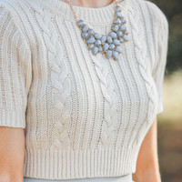 Alexandra Grey Jeweled Statement Necklace