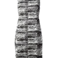 Calvin Klein Collection Sleeveless Knitted Shift Dress