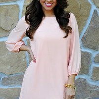 RESTOCK I Love You So Dress: Baby Pink | Hope's
