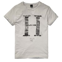 Inked Hand Drawn Graphic Tee - Scotch & Soda