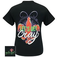 Girlie Girl Originals Preppy Let's Get Cray Crawfish T Shirt