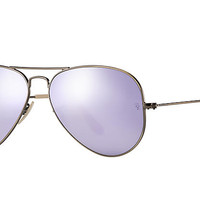 Ray-Ban AVIATOR FLASH LENSES Bronze-Copper, RB3025 | Ray-Ban® USA