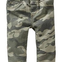 Pull-On Camo Jeggings for Baby