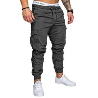 Men Pants New Fashion Men Jogger Pants Men Fitness Bodybuilding Gyms Pants For Runners Clothing Autumn Sweatpants